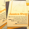 Jessica Shop Name Card