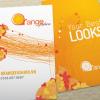 Orange Fashion Business Card