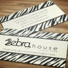 Zebra House – Name Card