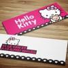 Hello Kitty Shop – Thẻ ghi giá
