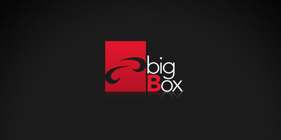 Mẫu thiết kế biểu tượng thương hiệu Big Box