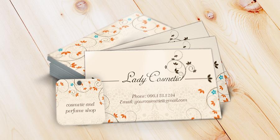Mẫu thiết kế card visit có sẵn