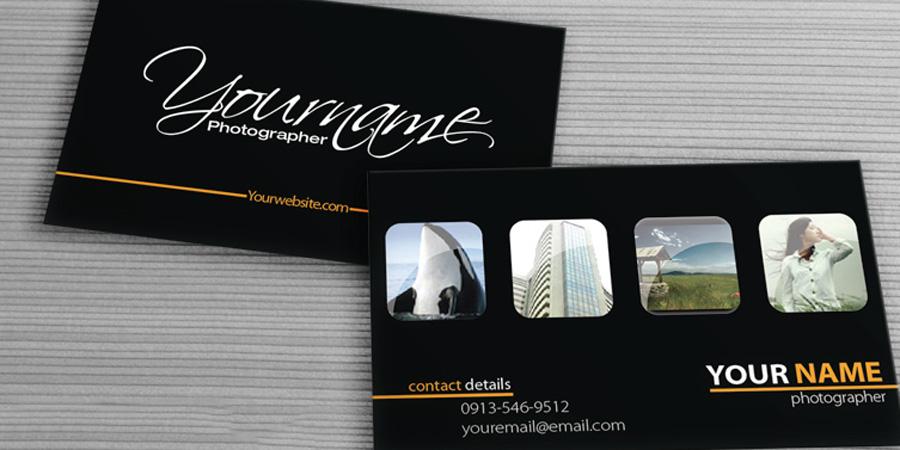 Danh thiếp cá nhân cho nhiếp ảnh gia (photographer)