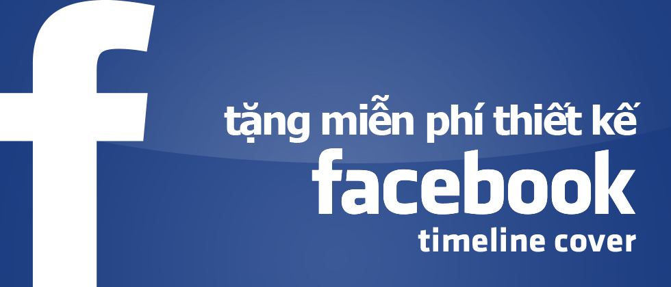 Miễn phí thiết kế giao diện facebook timeline cover