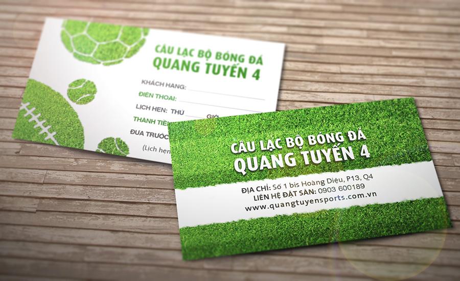 CLB Quang Tuyến - Card Visit