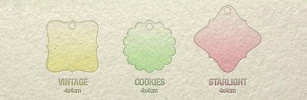 3 size mới Mác quần áo là Cookie, Starlight và Vintage