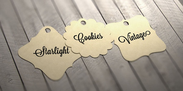 MIni Card, Price Tag với 3 size mới Starlight, Vintage, Cookies