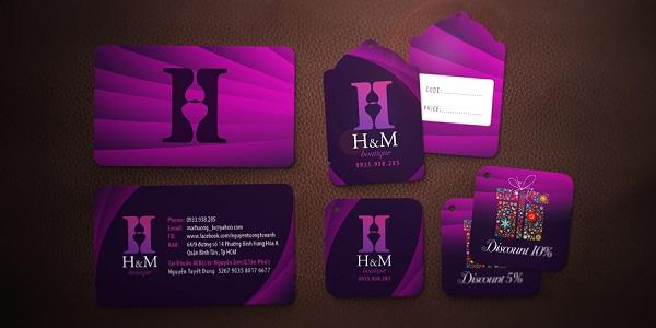 H&M Name Card & Price Tag Logo