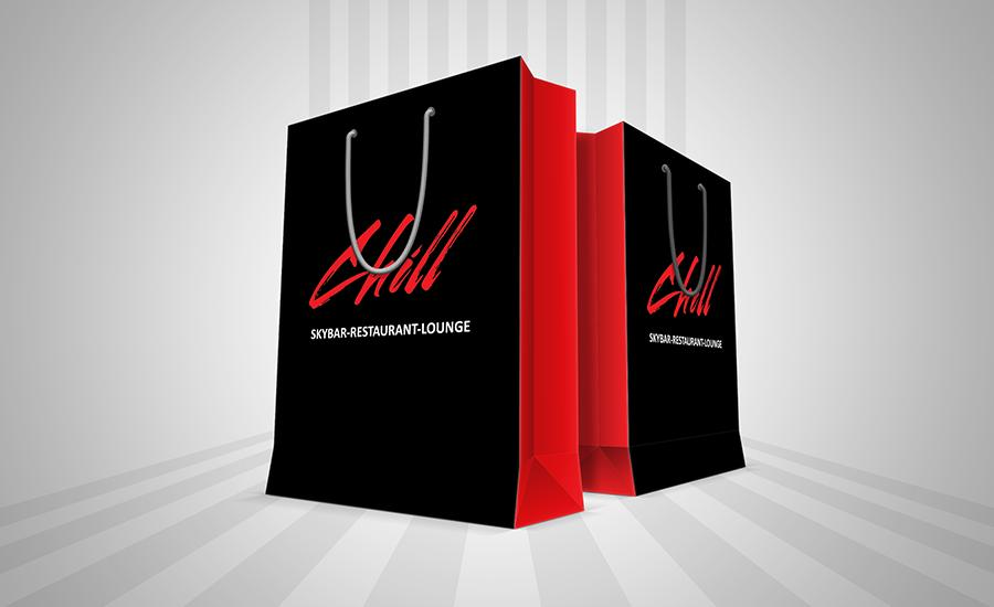 Túi giấy cao cấp ép kim - Chill Fashion