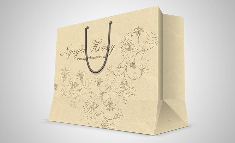 Nguyễn Hoàng - Túi giấy Kraft có sẵn
