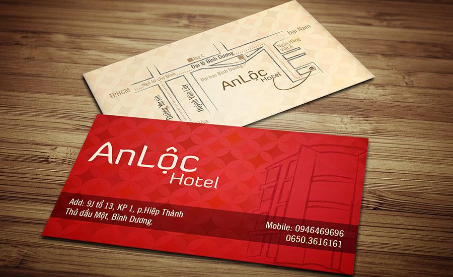 An Lộc Hotel Name Card