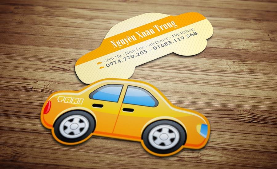 Danh thiếp đặc biệt - Taxi