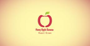 Honey Apple Bananas Logo – Second Concept