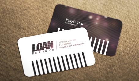 Loan's Hair Salon – Danh Thiếp
