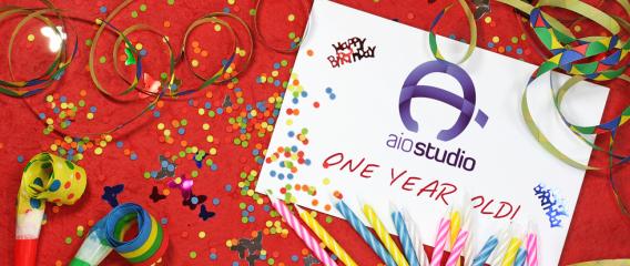 Chúc mừng sinh nhật AiO Studio tròn 1 tuổi