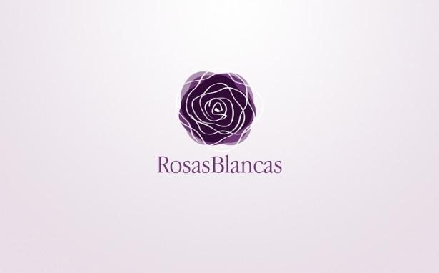 Rosas Blancas – Mini logo