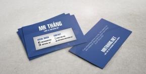 Blogger Mr. Thắng – Danh thiếp cá nhân