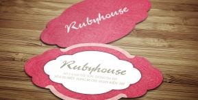 Ruby House – Name Card hình dạng đặc biệt