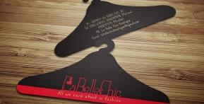 La Belle Chic Boutique – Danh thiếp hình móc áo