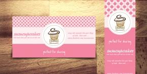 Susu Cupcake – Standy & Banner
