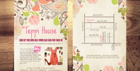 Teppi House – Flyer