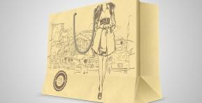 Túi giấy Mi-Style – Túi giấy có sẵn