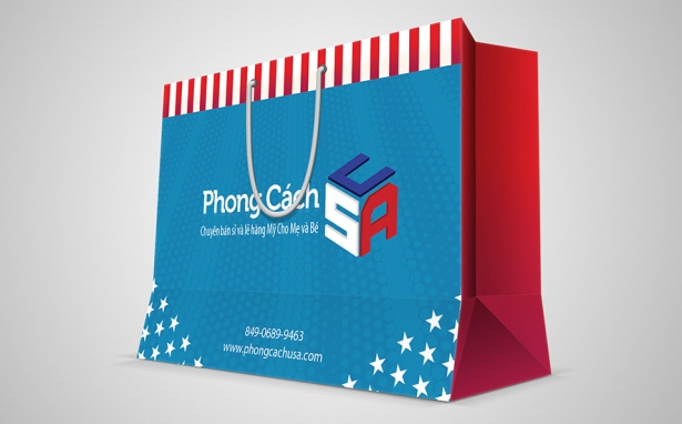 Phong Cách USA – Túi giấy