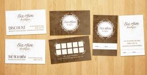 Six Five Boutique – Bộ sản phẩm Danh thiếp, Mác giá, Discount, Tích điểm
