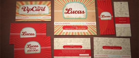 Trọn bộ thương hiệu shop thời trang Lucas