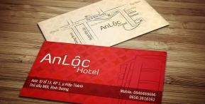 An Lộc Hotel – Business Card