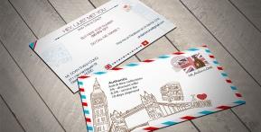 UK Fashion Shop – Name Cards