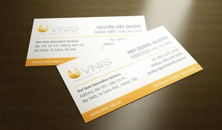 VNIS Company – Danh thiếp