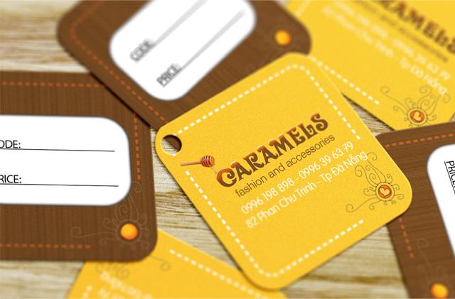 Caramel Shop - Price Tag, thẻ ghi giá