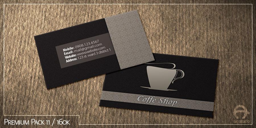 Mẫu thiết kế thẻ tích điểm có sẵn - Premium Pack 11