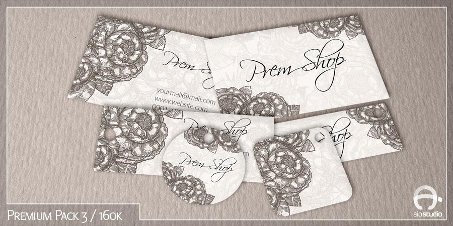Mẫu thiết kế mác giá có sẵn - Premium Pack 3