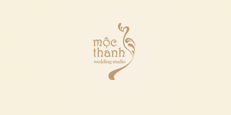 Mẫu thiết kế Logo thương hiệu cho Mộc Thanh Wedding Studio