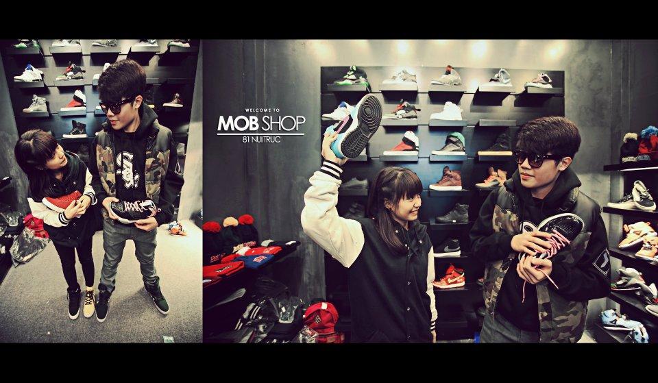 Cửa hàng thời trang Hip Hop, Mob Shop