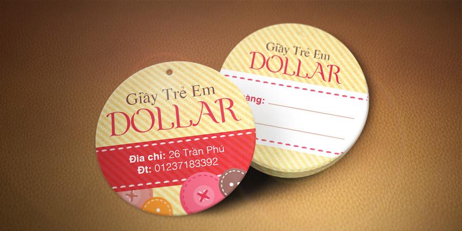 Giày Dollar Shop - Tag áo