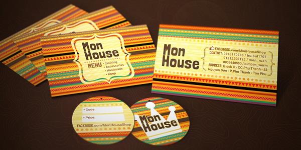 Mon House brand identity design