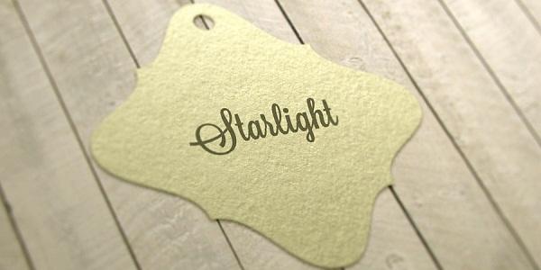 Thẻ ghi giá Starlight