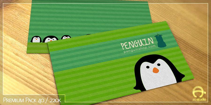 Mẫu thiết kế Name Card có sẵn - Premium Pack 40