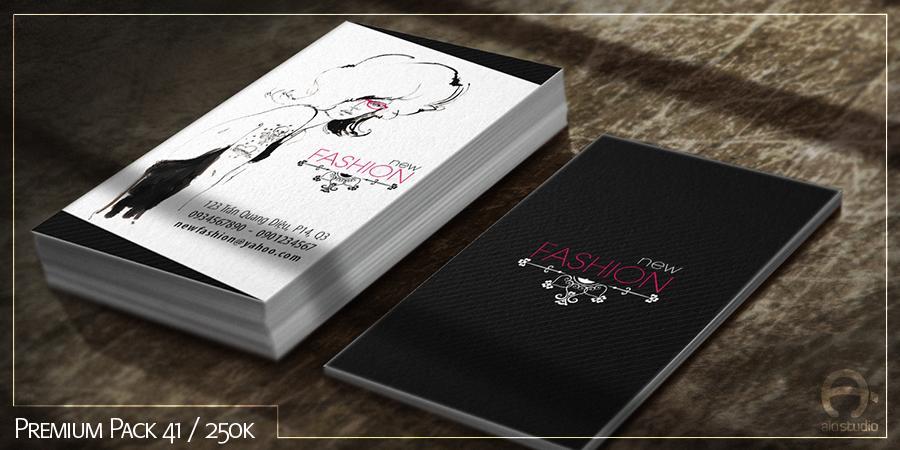 Mẫu thiết kế Business Card có sẵn - Premium Pack 41