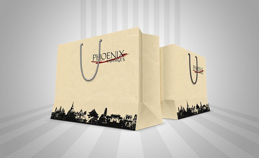 Phoenix Royale - Túi giấy môi trường cao cấp