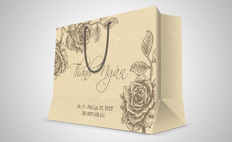 Túi giấy tái chế - Thanh Ngân Shop