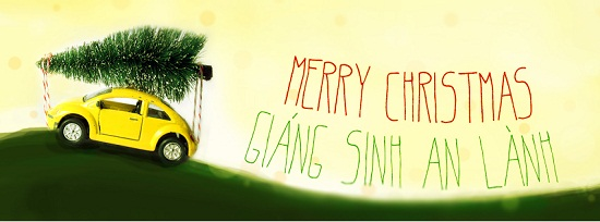 Christmas noel facebook cover
