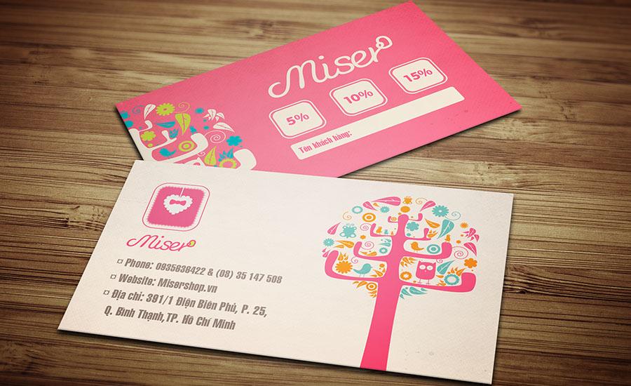 Miser Shop - VIP Card