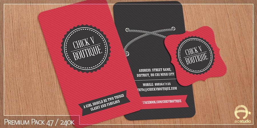 Thiết kế có sẵn - Premium Pack 47
