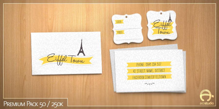 Thiết kế có sẵn - Premium Pack 50
